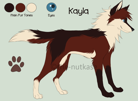 Kayla Reference Sheet by The-Nutkase
