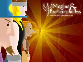 Magics and Barbarics Wallpaper by fabiocralves