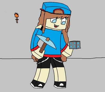 Minecraft Drawing by MiruArts