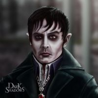 Barnabas Collins Portrait by lberry1976