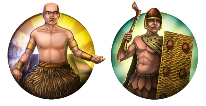 Civilization 5 Icons: Ancient Sumer by JanBoruta