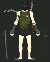 My Caves of Qud character by KaavenKavos