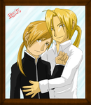 Edward and Alphonse by Mysterious-D