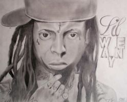 Lil Wayne by Rollingboxes