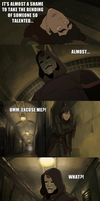 Legend of Korra - Korra snaps... by yourparodies