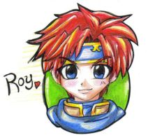 Roy - Fire Emblem by Yokisho