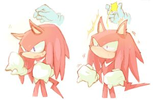 Knuckles got ears by sujinee