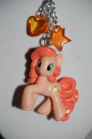 Peachy Pie necklace by Coall