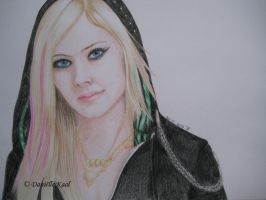 Avril Lavigne by Delinlea