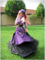 :Megurine Luka: Turn around by Dark-Nami