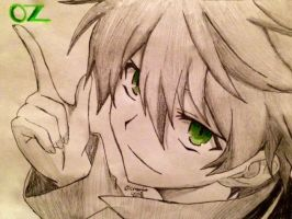 Oz (Pandora Hearts) by cmbmint