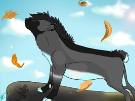 Autumn Wind by TheDarkHyena