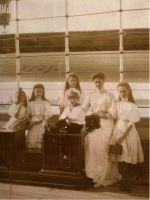 Empress with her children onboard the Standart by Linnea-Rose