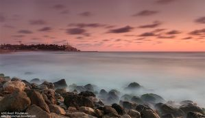 Jaffa at sunset by Photomichael