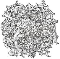 Baroque Swirls and Flourishes by Metacharis