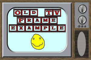 Old TV frames for PSP 8 by Wild-Card-CR