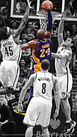 Kobe Bryant resized wallpaper for iPhone5 by RafaelVicenteDesigns