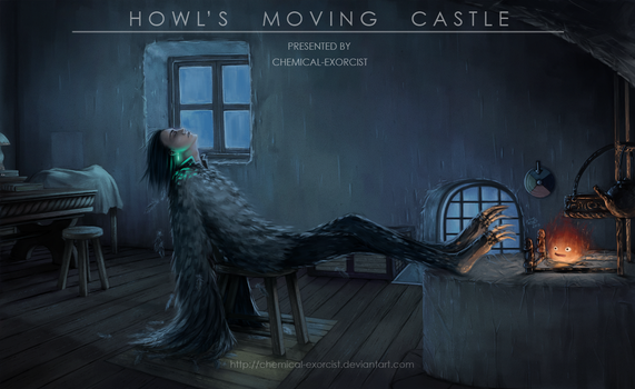 Howl's Moving Castle by Chemical-Exorcist