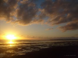 Bay Sunset by jayshree