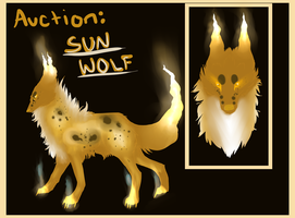 Sun Wolf Auction *EDIT* CLOSED! by Aekaitz