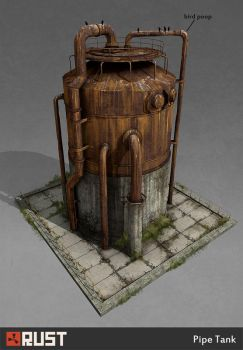 Rust - pipe tank by Howi3