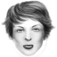 Portret by d0owZ