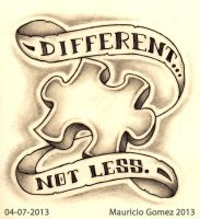 Different...Not Less by Insanemoe