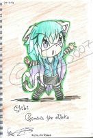 .::PC::.Chibi-Geminis the Neko by Nite3007