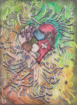A Patchwork Heart Refined by The-Undone-Man