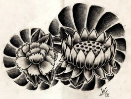 Lotus and Peony by WillemXSM