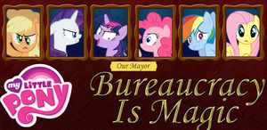 Bureaucracy Is Magic - Cover by PenStrokePony