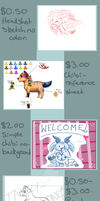 Cheap Commission Information by Tailzy-Chan