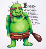 T is for Troll by HayBay