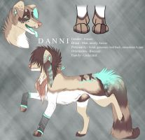 Danni Ref - official fursona by DiseasedSyndromeXx