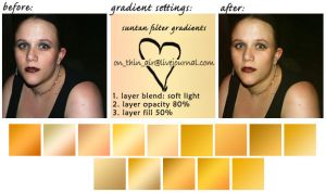 suntan warming gradient PS CS by onthinair