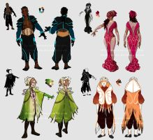 Dauntless - City party outfits by LiberLibelula