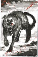 Black Shuck by KillustrationStudios