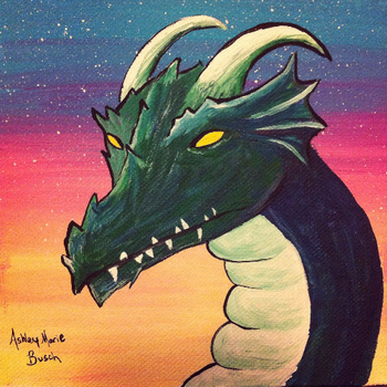The Dragon by DreamingPainter