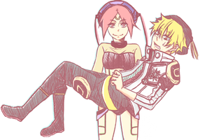 Bak and Fou by white-shadow921