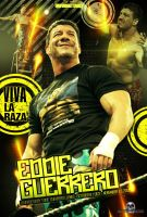 WWE - EDDIE GUERRERO poster by TheIronSkull