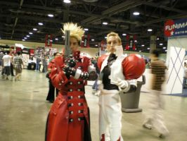 Anime Expo cosplayers by obitoxuchihaxlover