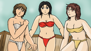 Fundoshi Triplets by VachalenXEON