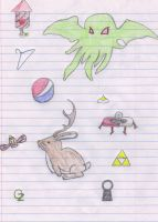 Doodle Page by DrSlavic