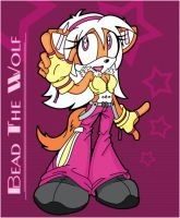 Bead the Wolf Lineart Colored by Dias-Jean