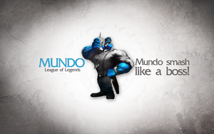 League of Legends Wallpaper - Mundo by deSess
