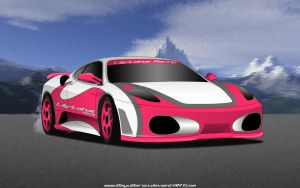 Lily-Lotus Racing Ferrari F430 by BayuBaron