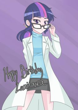 Sci Twi (Happy birthday Lumi 2015) by JonFawkes