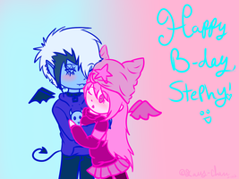 Hapy B-day Stephy ovo by Tess-Is-Epic