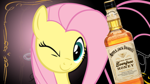 What Do Ponies Drink? - Fluttershy by 4Suit