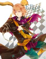 :Art Trade: Elliot March by Mano-chan